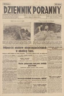 Dziennik Poranny. R. 1, 1940, nr 49 (27 IV)