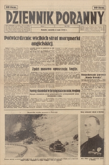 Dziennik Poranny. R. 1, 1940, nr 53 (2 V)