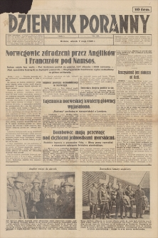 Dziennik Poranny. R. 1, 1940, nr 56 (7 V)