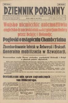 Dziennik Poranny. R. 1, 1940, nr 60 (11 V)