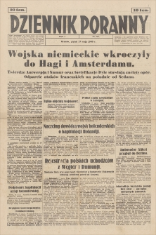 Dziennik Poranny. R. 1, 1940, nr 64 (17 V)
