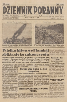 Dziennik Poranny. R. 1, 1940, nr 75 (31 V)