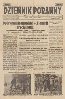 Dziennik Poranny. R. 1, 1940, nr 77 (2 VI)