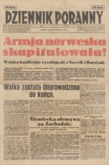 Dziennik Poranny. R. 1, 1940, nr 84 (11 VI)