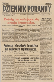 Dziennik Poranny. R. 1, 1940, nr 89 (16 VI)