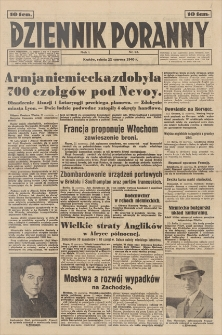 Dziennik Poranny. R. 1, 1940, nr 94 (22 VI)
