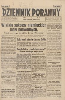 Dziennik Poranny. R. 1, 1940, nr 101 (30 VI)