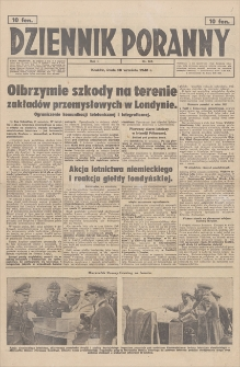 Dziennik Poranny. R. 1, 1940, nr 169 (18 IX)