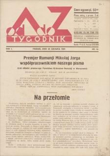 Od A do Z : tygodnik. R. 1. 1931, nr 10 (28 VI)