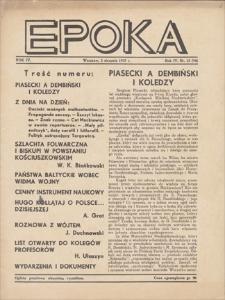 Epoka. R. 4, 1937, nr 15 (94), (5 VIII)