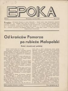 Epoka. R. 5, 1938, nr 17 (120), (5 VI)