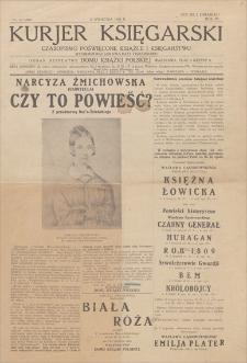 Kurjer Księgarski : czasopismo poświęcone książce i księgarstwu. R. 4, 1929, nr 24 (266), (17 kwietnia)