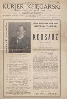 Kurjer Księgarski : czasopismo poświęcone książce i księgarstwu. R. 4, 1929, nr 66 (308), (19 października)