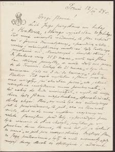 Korespondencja Emila Zegadłowicza. Listy Stanisławy Wysockiej do Emila Zegadłowicza z roku 1924