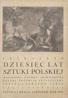 Sztuka i Praca: dwutygodnik poświęcony sprawom sztuki i kultury. R. 2, 1928, z. 17-20