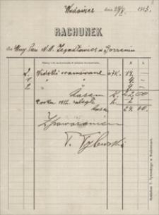 Papiery Emila Zegadłowicza : rachunki, kwity, upomnienia