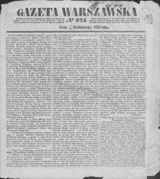Gazeta Warszawska. 1853, nr 275 (7/19 X)