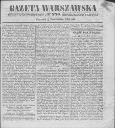 Gazeta Warszawska. 1853, nr 276 (8/20 X)