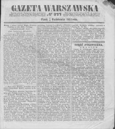 Gazeta Warszawska. 1853, nr 277 (9/21 X)