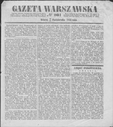 Gazeta Warszawska. 1853, nr 281 (13/25 X)