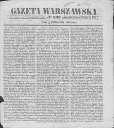 Gazeta Warszawska. 1853, nr 282 (14/26 X)