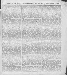 Gazeta Warszawska. 1853, dod. do nr 283 (15/27 X)