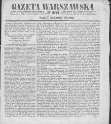 Gazeta Warszawska. 1853, nr 284 (16/28 X)