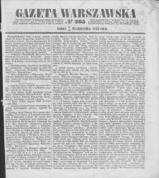 Gazeta Warszawska. 1853, nr 285 (17/29 X)