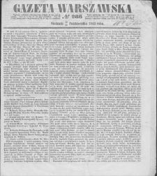 Gazeta Warszawska. 1853, nr 286 (18/30 X)