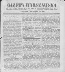 Gazeta Warszawska. 1853, nr 287 (19/31 X)