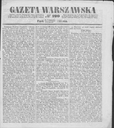 Gazeta Warszawska. 1853, nr 290 (23 X/4 XI)