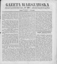 Gazeta Warszawska. 1853, nr 291 (24 X/5 XI)