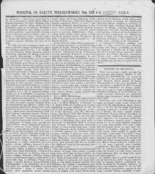 Gazeta Warszawska. 1853, dod. do nr 296 (29 X/10 XI)
