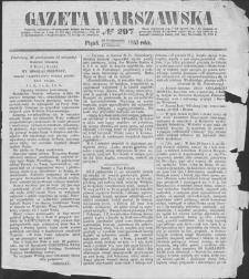 Gazeta Warszawska. 1853, nr 297 (30 X/11 XI)