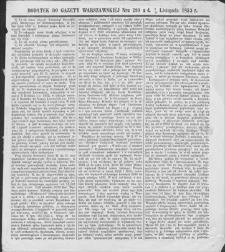 Gazeta Warszawska. 1853, dod. do nr 299 (1/13 XI)