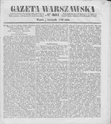 Gazeta Warszawska. 1853, nr 301 (3/15 XI)