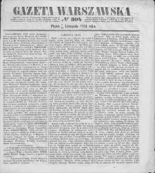 Gazeta Warszawska. 1853, nr 304 (6/18 XI)