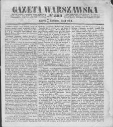 Gazeta Warszawska. 1853, nr 308 (10/22 XI)