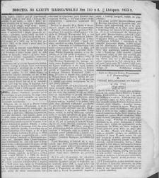 Gazeta Warszawska. 1853, dod. do nr 310 (12/24 XI)