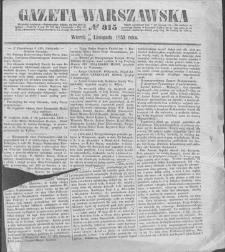 Gazeta Warszawska. 1853, nr 315 (17/29 XI)