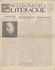 Wiadomości Literackie. R. 2, 1925, nr 2 (54), 11 I