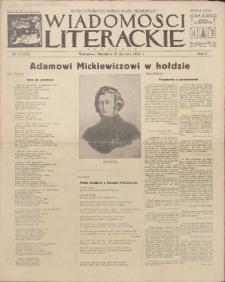 Wiadomości Literackie. R. 2, 1925, nr 3 (55), 18 I