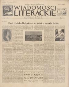 Wiadomości Literackie. R. 2, 1925, nr 4 (56), 25 I