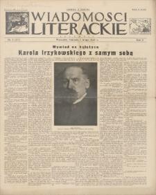 Wiadomości Literackie. R. 2, 1925, nr 5 (57), 1 II