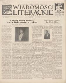 Wiadomości Literackie. R. 2, 1925, nr 10 (62), 8 III