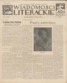 Wiadomości Literackie. R. 2, 1925, nr 12 (64), 22 III