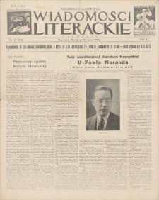 Wiadomości Literackie. R. 2, 1925, nr 13 (65), 29 III