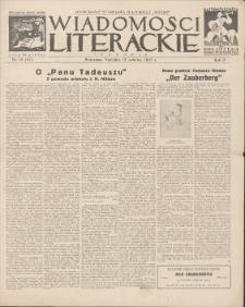 Wiadomości Literackie. R. 2, 1925, nr 15 (67), 12 IV
