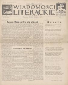 Wiadomości Literackie. R. 2, 1925, nr 17 (69), 26 IV
