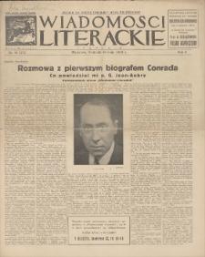Wiadomości Literackie. R. 2, 1925, nr 19 (71), 10 V